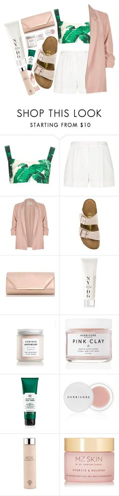 """""""Free Feel"""" by maddog22 ❤ liked on Polyvore featuring Dolce&Gabbana, Elie Saab, River Island, Birkenstock, Dorothy Perkins, NYDG, SkinCare, Herbivore, AEOS and MZ Skin"""