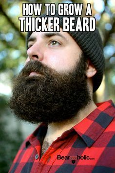 Here are some simple tips you can implement today that will grow a thicker beard in less time that you might think. Beard grooming tips from Beardoholic.com