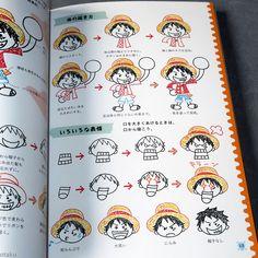 One Piece Easy Ballpoint Pen Illustration Guide