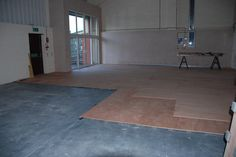 Build your own sprung floor...will this be good sound proofing for the store down stairs??