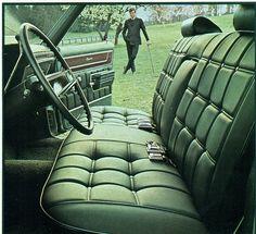 1970 Chevrolet Caprice 4 Door Hardtop Interior