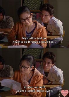 Gilmore Girls. Gotta love Jess Mariano! Funny quote!