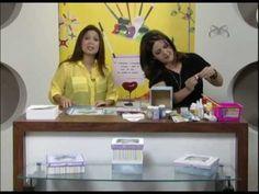 ▶ Porta-talheres de natal - Coleção Candy Colors - parte 1/2 - YouTube