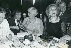 Steve Rubell, Estee Lauder, Bill Blass and Miss Lillian Carter at Studio 54