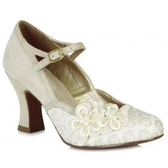 Featuring a flattering and comfortable flared heel and dainty ankle strap, Amelia's elegant styling will carry you through your special day and let you dance all night! Ruby Shoo Amelia matches perfectly to bag style Boston. http://www.marshallshoes.co.uk/womens-c2/ruby-shoo-womens-amelia-cream-mary-jane-court-shoe-09089-p4738