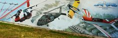 Mural, Street Art, samoloty, aircraft, airplane, Mielec, Lotnicza historia
