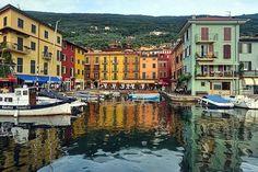 Castelletto di Brenzone, Garda Lake, Italy