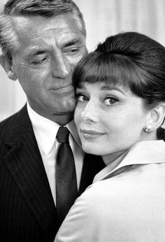 Cary Grant & Audrey Hepburn My second favorite hepburn movie! right after funny face.