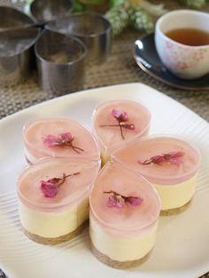 桜ホワイトレアチーズ