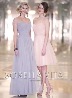 Bridesmaid dresses by Sorella Vita - Style 8595