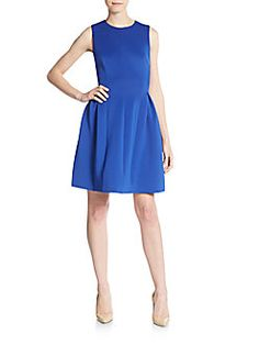 Calvin Klein - Fit-And-Flare Dress