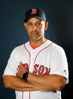 Manager Alex Cora of the Boston Red Sox poses for a portrait during the Boston Red Sox photo day on February 2018 at JetBlue Park in Ft. - 3 of 130 Chicago White Sox, Boston Red Sox, Star Trek Posters, Red Sox Nation, Red Sox Baseball, Julian Edelman, Boston Sports, Boston Strong, Buster Posey