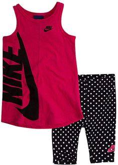 c787cd4e2bd Baby Su18 Sets 2-pc. Short Set Baby Girls  Sets Nike