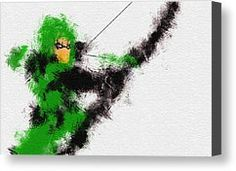The Arrow Of Justice Canvas Print by Miranda Sether