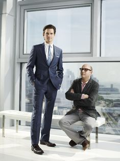 At least 50% of the time I watch White Collar because of the inspiration I get from those ratpack style suits...