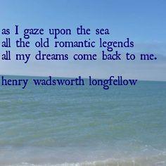 As I gaze upon the sea! All the old romantic legends, all my dreams come back to me. - Henry Wadsworth Longfellow #captibel #Sanibel #Captiva #captivabeach #yay #saltlife  #beachlife #sanibelisland #sanibelbeach #sanibelfl #shelllife #captivalife