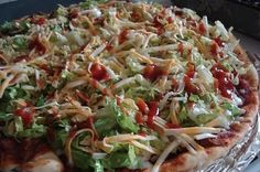 Taco Pizza - My fave!