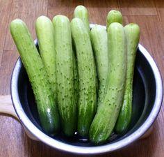 시어머님께 배운 한 입에 쏙쏙 오이 깍두기 무르지 않도록 맛있게 담그는 방법 K Food, Korean Food, Kimchi, Holidays And Events, Pickles, Cucumber, Cooking Recipes, Vegetables, Pets