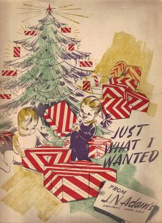 FANTASTIC J N ADAMS (BUFFALO) Christmas Catalog 1940's