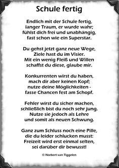 """Mit einem Klick auf dieses Gedicht, besuchen Sie das Buch """"Menschenskinder"""" von Norbert van Tiggelen, indem weitere ähnliche Gedichte zu lesen sind. Viel Spaß beim Schmökern! Leaving School, Van Life, Poems, Lettering, Have Fun, Humor, How To Plan, Motivation, Sayings"""