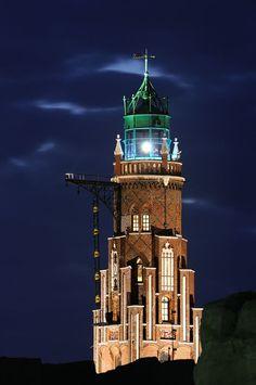 Simon Loschen tower - Bremerhaven, #Germany. The oldest operative #lighthouse on… - http://dennisharper.lnf.com/