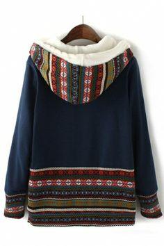 Knit Blocking Coats Outwear