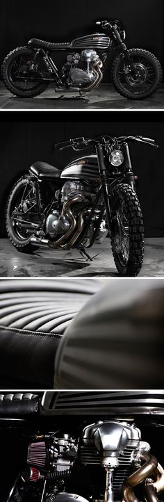 Kawasaki W650 by CRD