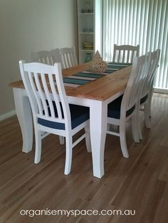 Our Home DIY - Refurbishing our Dining Suite