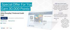 30,000 Point Bonus (Up From 15k) – American Express EveryDay Preferred Credit Card - http://therewardboss.com/2015/10/01/30000-point-bonus-15k-american-express-everyday-preferred-credit-card/