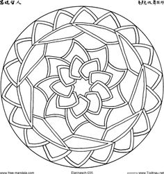 free Mandalas to download.