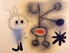 Joan Miró (Barcelona,1893 - 1983) pintor, escultor, grabador surrealista español.