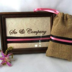 Stc & Company signature soaps in a burlap baggie
