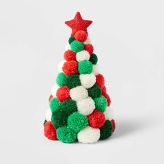 Christmas Pom Pom Crafts, Christmas Crafts For Kids, Diy Christmas Ornaments, Diy Christmas Gifts, Christmas Art, Holiday Crafts, Easy Christmas Decorations, Target Christmas Decor, Pom Pom Decorations