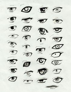 Anime eyes; How to Draw Manga/Anime