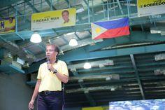 May pag-asa,may magandang bukas. Yan ang daang matuwid. - Mar Roxas in Imus, Cavite #MAR2016Na #RoxasRobredo #BayangMatuwid