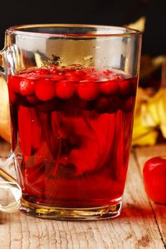 Recipe including course(s): Entrée; and ingredients: apple, apple juice, cranberry juice, ginger ale, orange juice Cranberry Recipes, Cranberry Juice, Apple Recipes, Fall Recipes, Orange Juice, Apple Juice, Refreshing Drinks, Yummy Drinks, Yummy Food