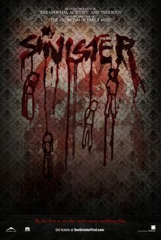The designer must have had a great time with this one!..Sinister Movie Poster #3 - Internet Movie Poster Awards Gallery