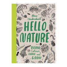 This beautiful nature coloring book from Nina Chakrabarti will encourage the reader to explore and dive into the world around us. Not designed to be your tradit
