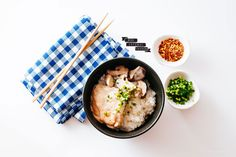 Try this comforting, creamy twist on stew: white miso, coconut, and tender chicken with mushrooms and rice