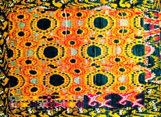 FOR THE LOVE OF GOLD: ikat rugs