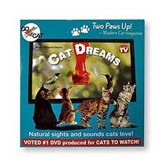 "GoCat ""Cat Dreams"" DVD for Cats"