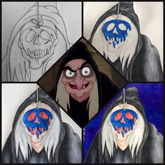 My re creation of the evil queen as the old lady in Snow White