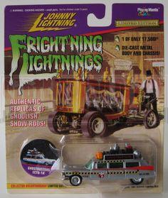Johnny Lightning Frightning Lightning Ghostbusters Ecto 1A Silver