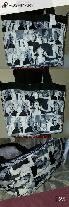 New Marilyn Monroe Tote Bag Purse New Marilyn Monroe Tote Bag Purse Certification Bags Totes