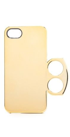 Marc by Marc Jacobs Metallic Ring iPhone 5 Case | SHOPBOP