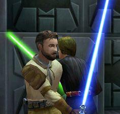 Luke Skywalker and Kyle Katarn by oliatoth on DeviantArt   Star ...