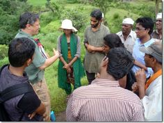 A WMG water harvesting class in India. Watershed Management, Research Institute, Permaculture, Day, India, Group, Indie, Indian