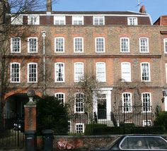 Archway House, early 18th c. terraced house. Recent projects | Patrick Baty – Historical paint consultant