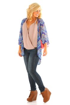 The World Is Spinning Cardigan: Multi
