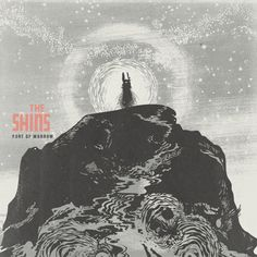 Artist Jacob Escobedo's cover image and typography for The Shins' album.